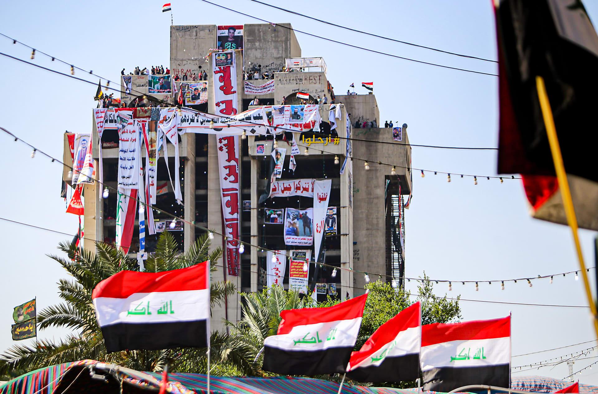 جيش العراق: لا نستخدم الرصاص الحي ضد المتظاهرين ونضمن سلامتهم