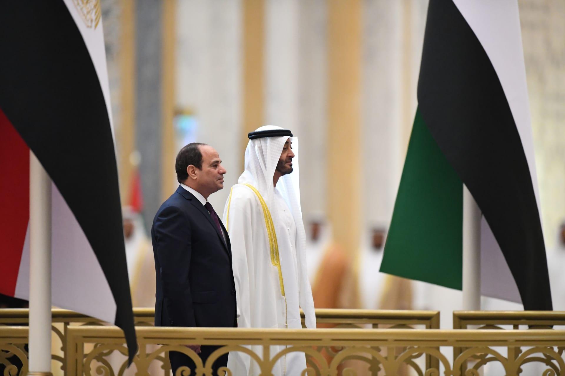 منصة جديدة للاستثمارات المشتركة بين مصر والإمارات بقيمة 20 مليار دولار