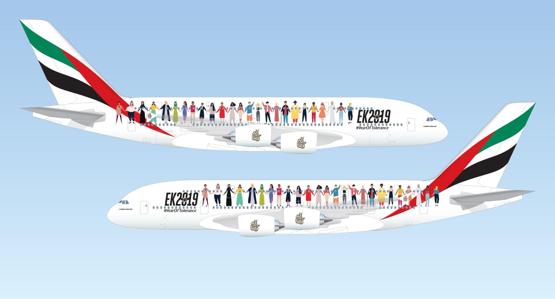 """احتفالاً باليوم الوطني وعام التسامح.. طيران الإمارات تفتح فرصة الركوب على متن """"رحلة تاريخية"""""""
