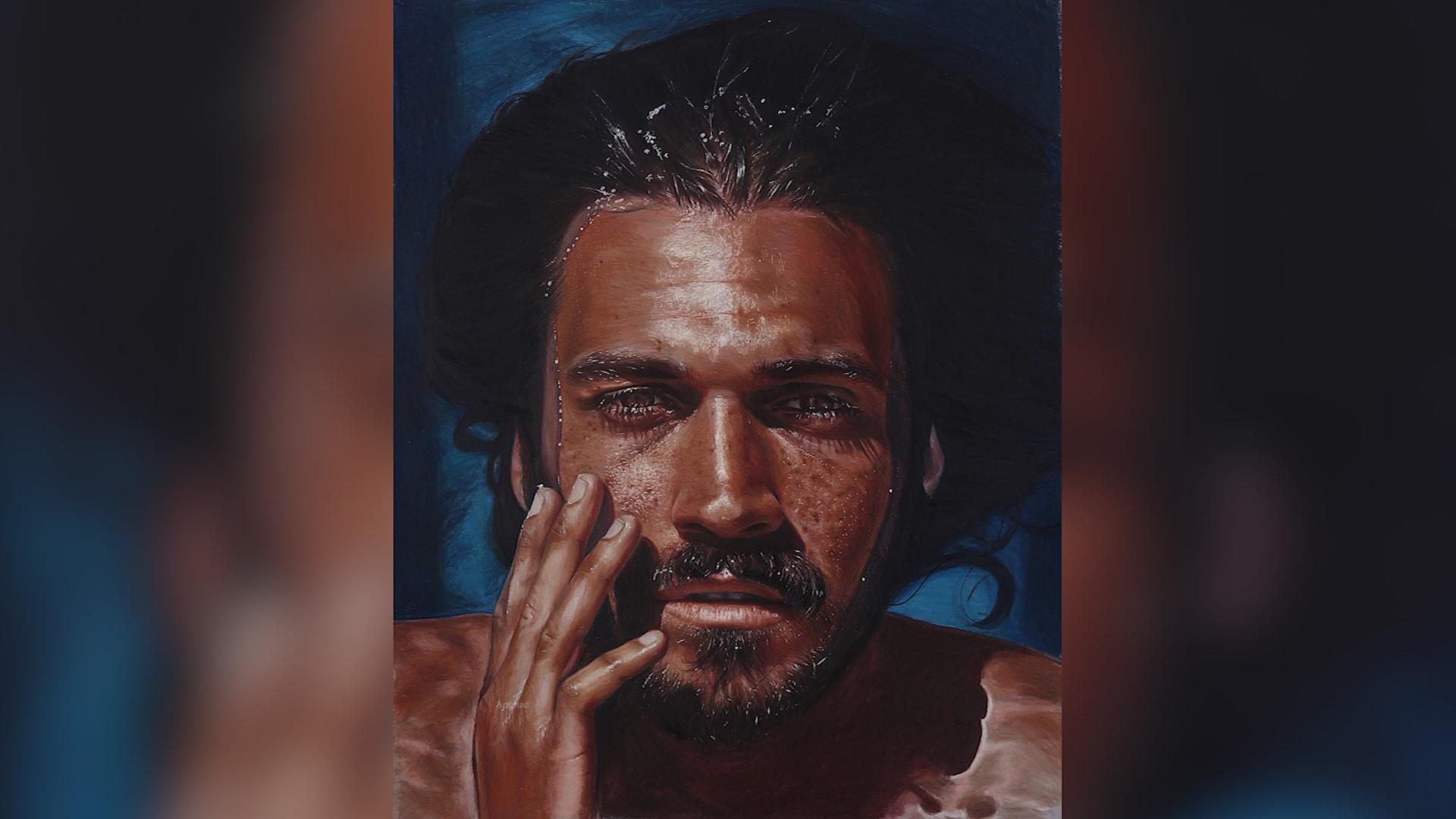 حقيقية أم رسوم.. فنانة سعودية تعيد الحياة لتفاصيل الوجوه التي ترسمها