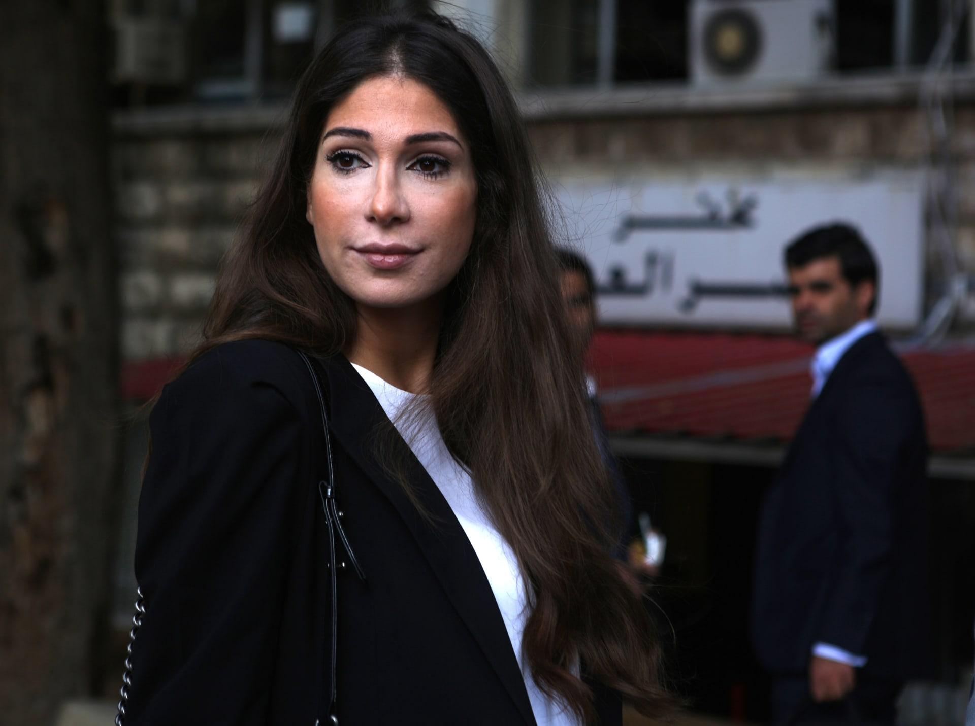 الإعلامية اللبنانية ديما صادق