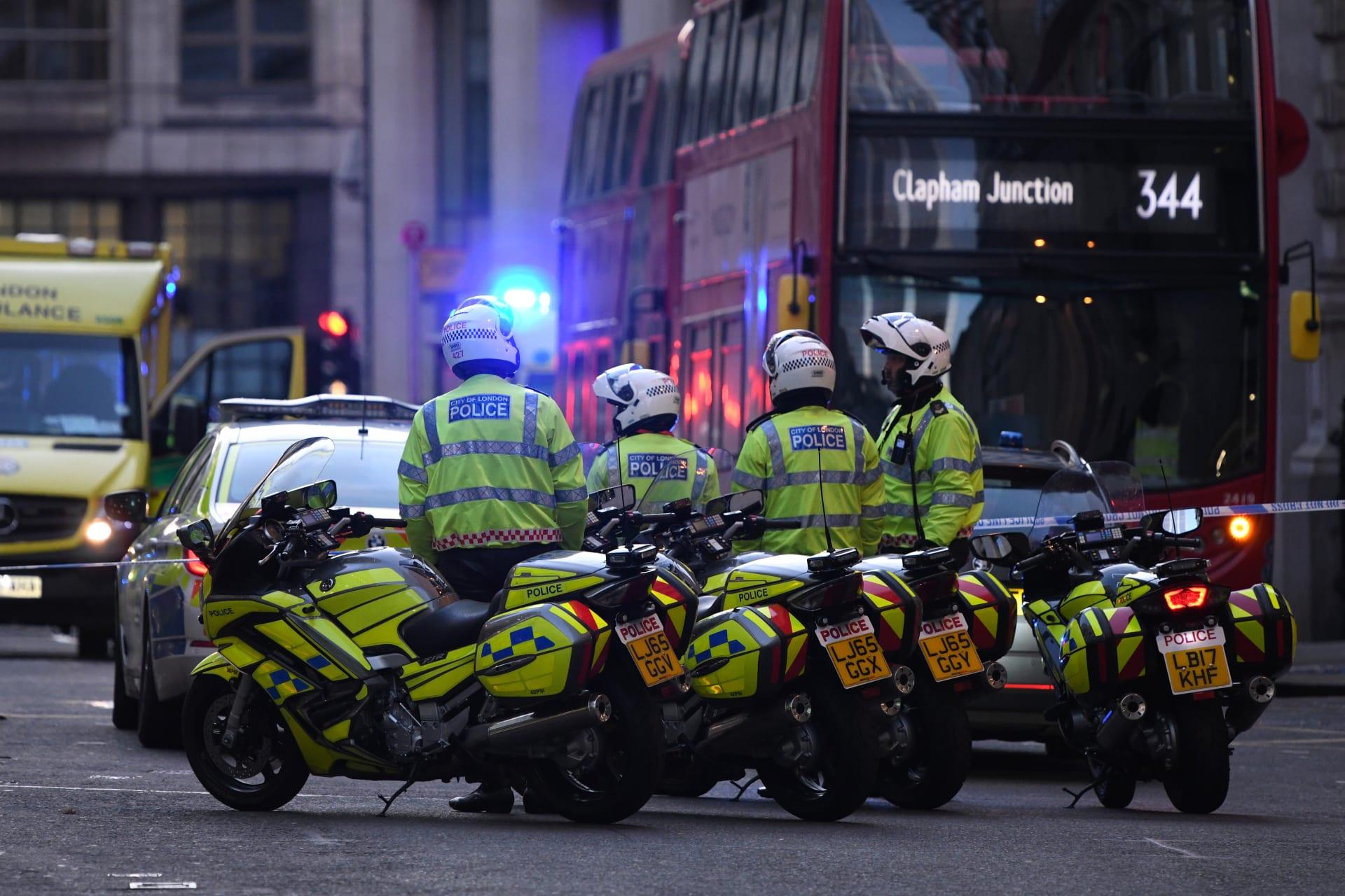 إصابة عدد من الأشخاص في حادث الطعن في لندن