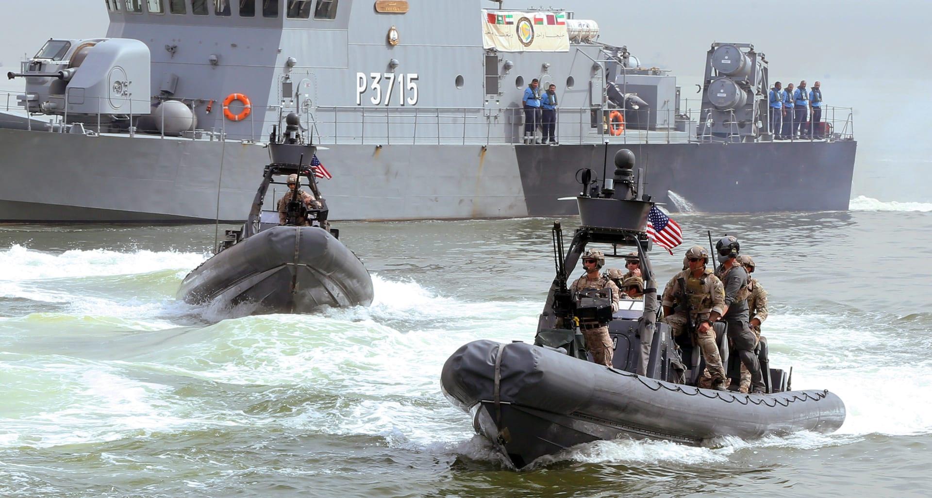 قوات أمريكية في منطقة الخليج