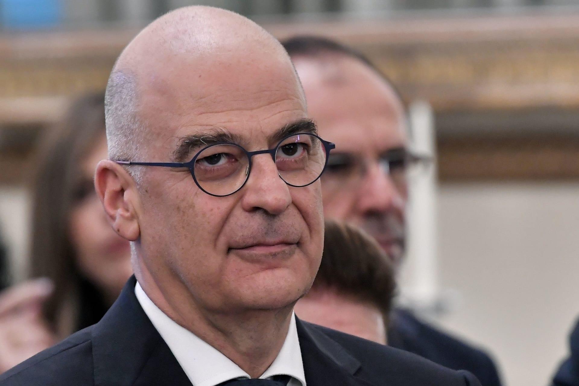 وزير الخارجية اليوناني نيكولاس دندياس