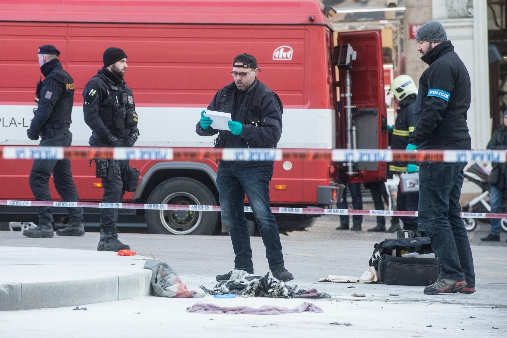 الشرطة التشيكية تحقق في إحدى الحوادث في العاصمة براج