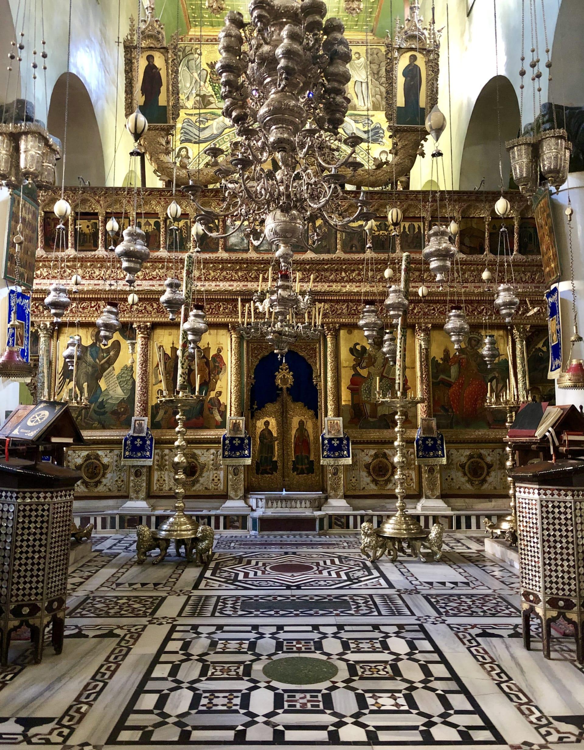 كنيسة التجلى بدير سانت كاترين