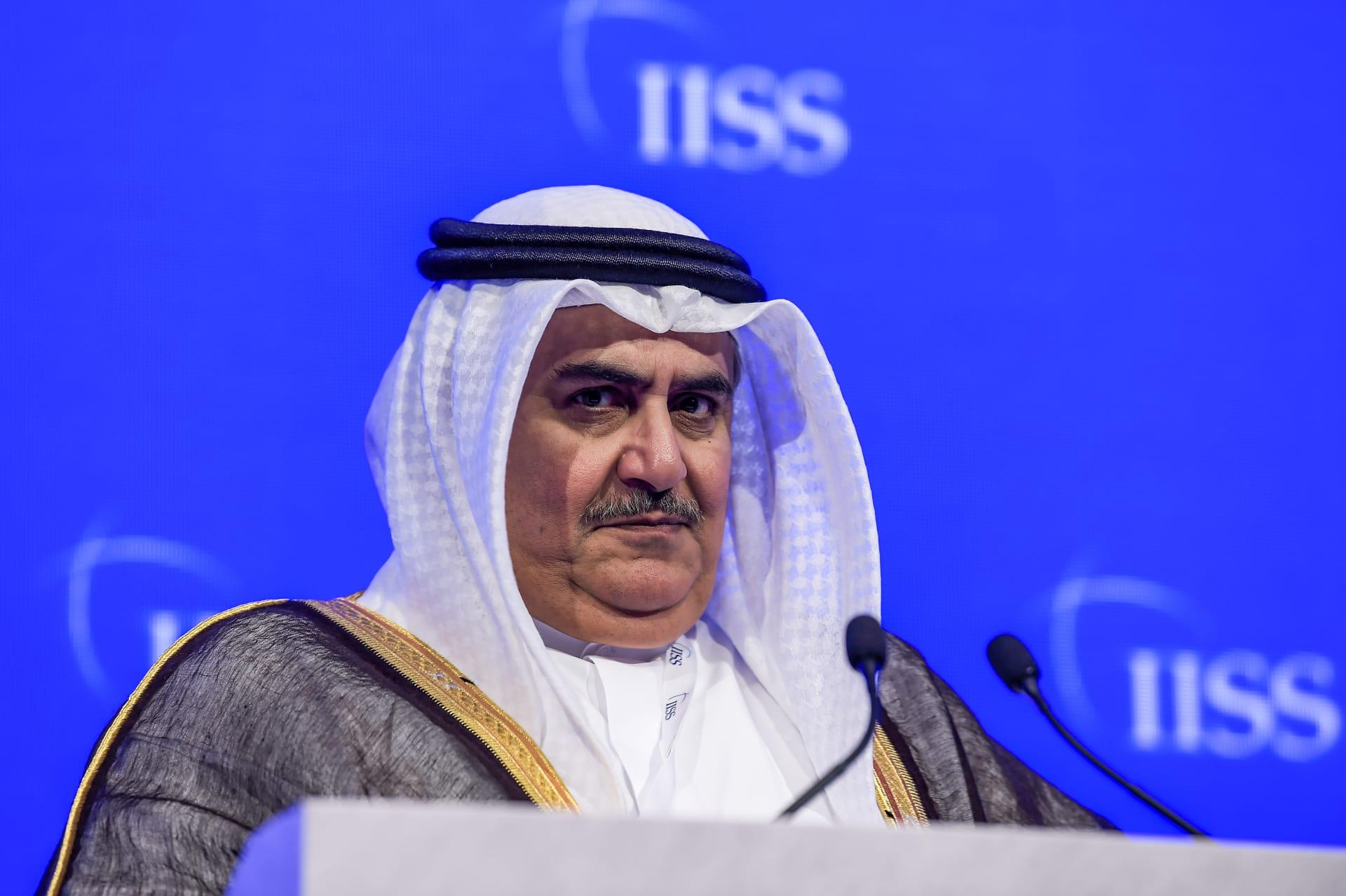 وزير خارجية البحرين الشيخ خالد بن أحمدآل خليفة