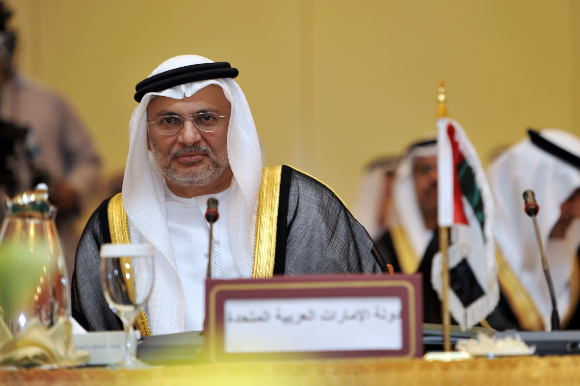أنور قراقاش وزير الدولة الإماراتي للشؤون الخارجية