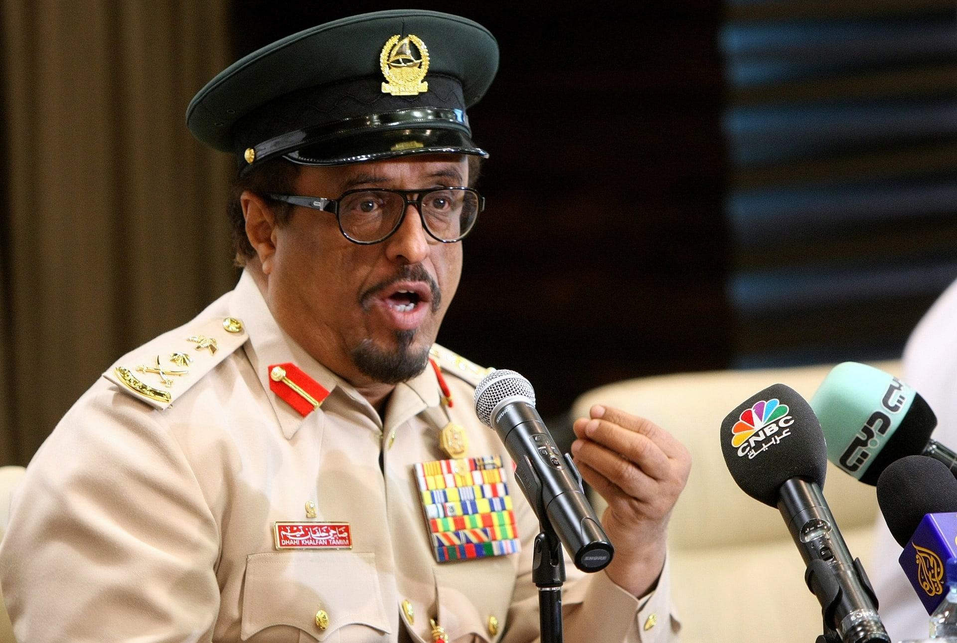 صورة أرشيفية لنائب رئيس شرطة دبي