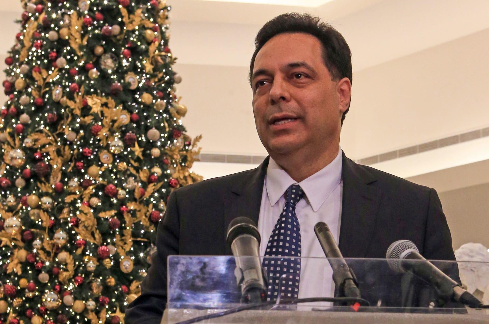 رئيس الوزراء المكلف في لبنان حسان دياب