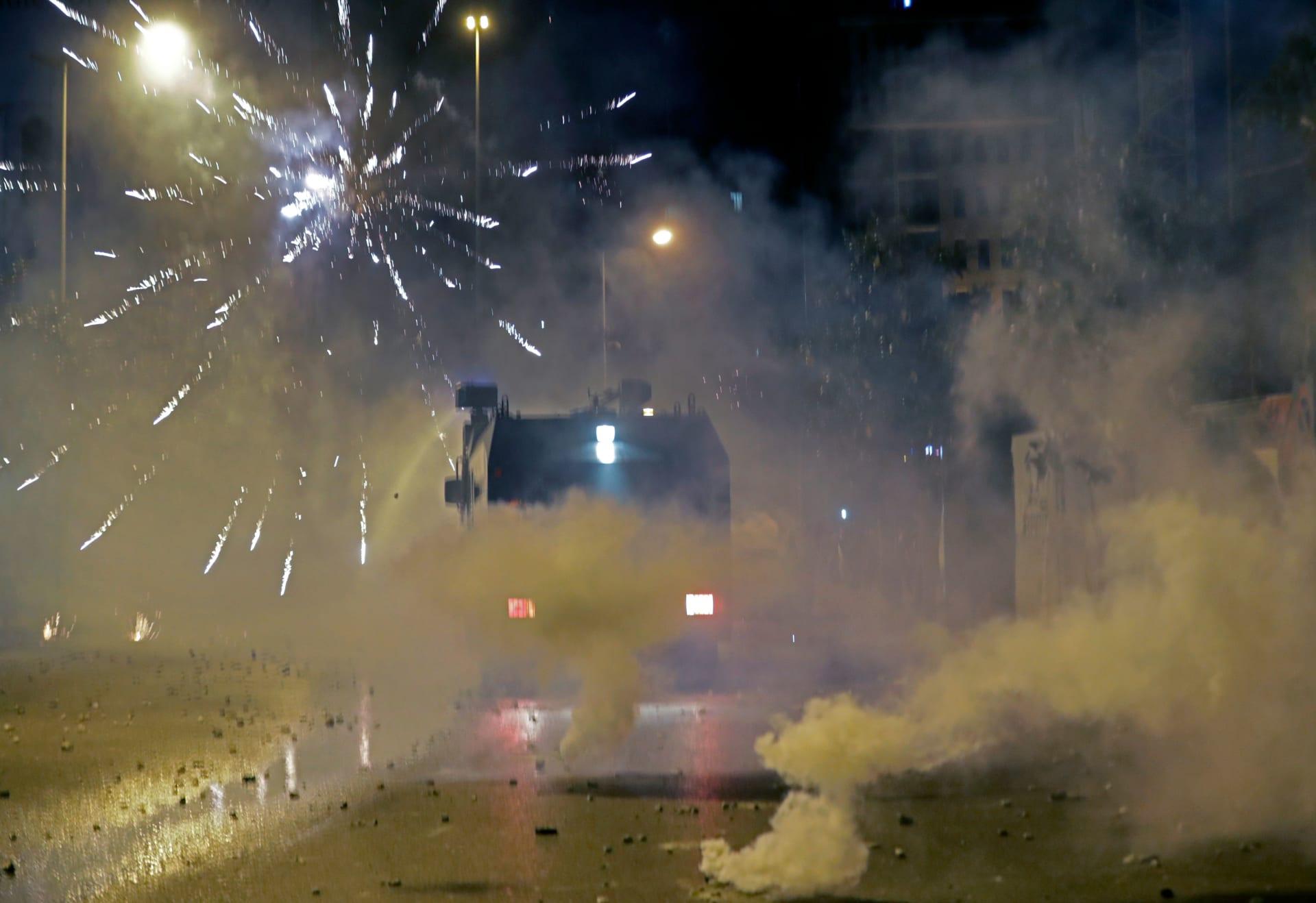 """هيومان رايتس ووتش: الأمن اللبناني استخدم """"قوة مفرطة"""" ضد المتظاهرين"""