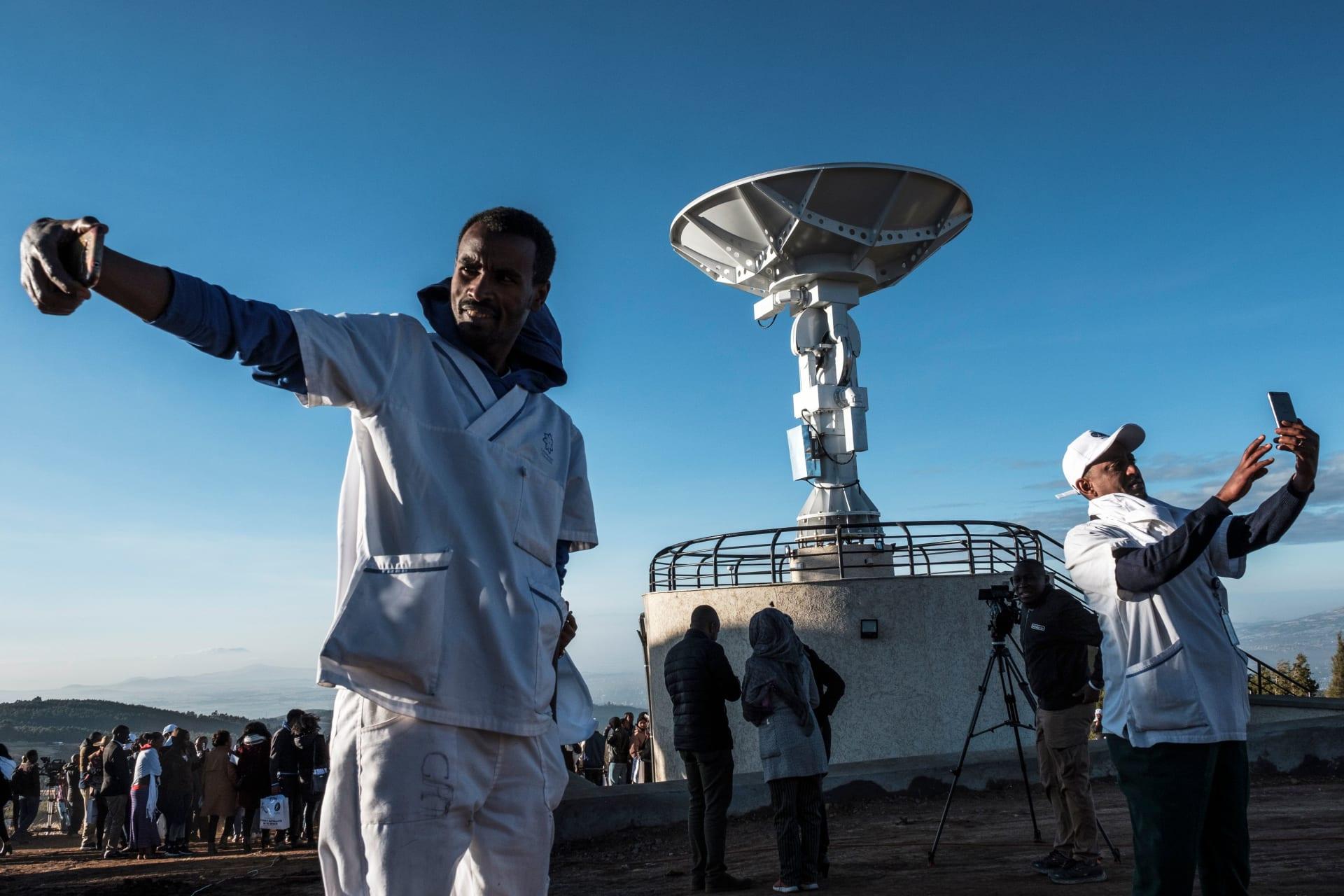 بمساعدة صينية.. إثيوبيا تطلق أول قمر صناعي إلى الفضاء