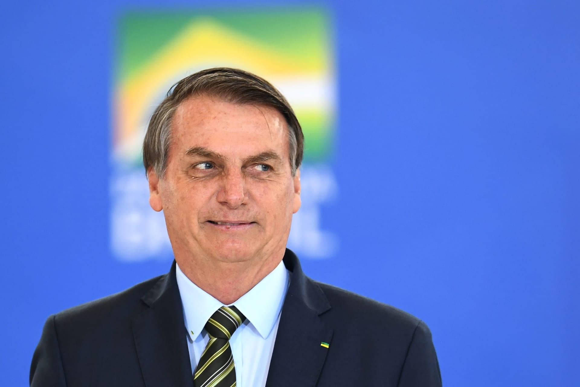 صورة للرئيس البرازيلي تعود إلى 8 ديسمبر/كانون أول من عام 2019