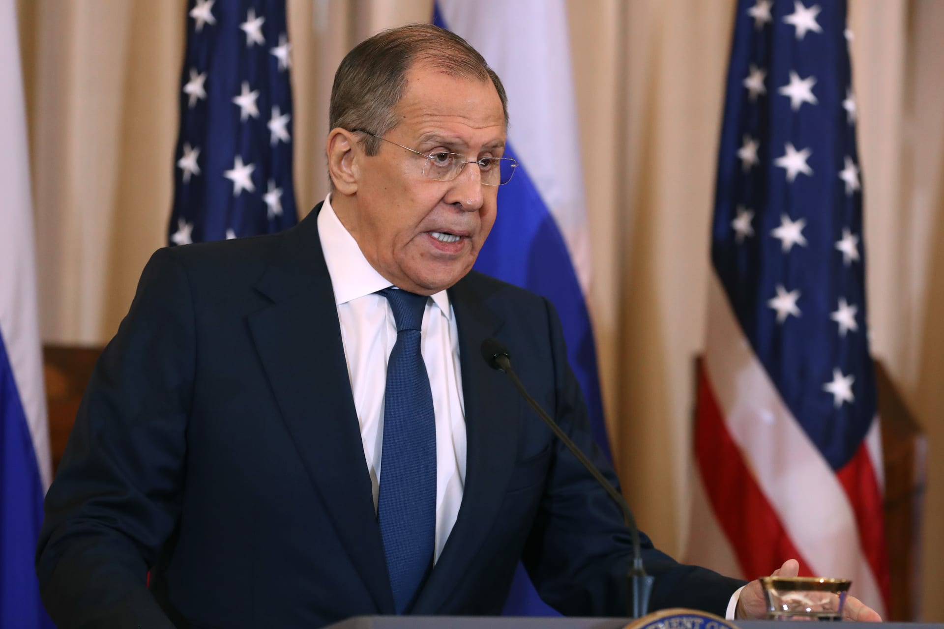 """روسيا: الضربات الأمريكية في العراق وسوريا """"غير مقبولة وذات نتائج عكسية"""""""