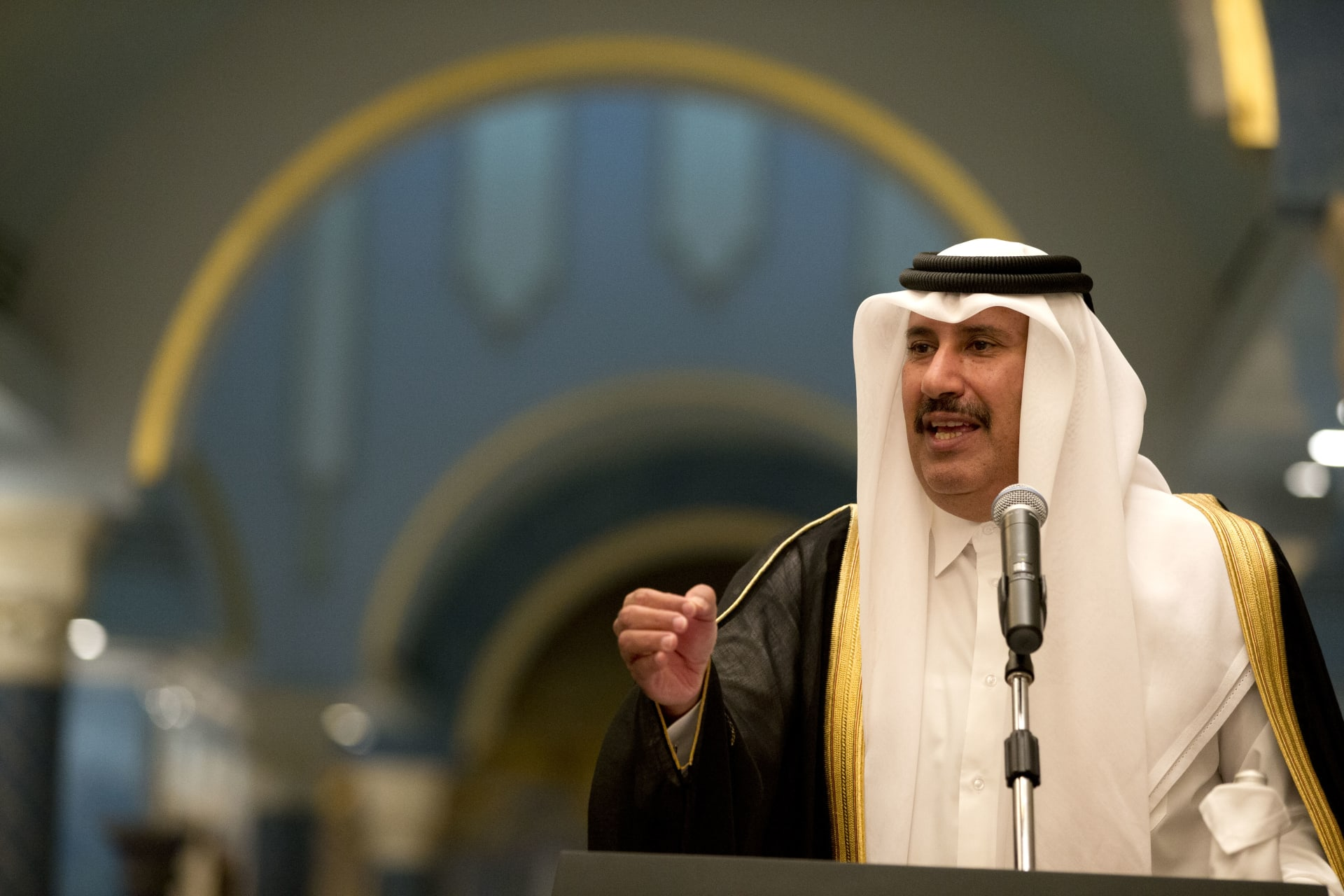 حمد بن جاسم وزير خارجية قطر السابق