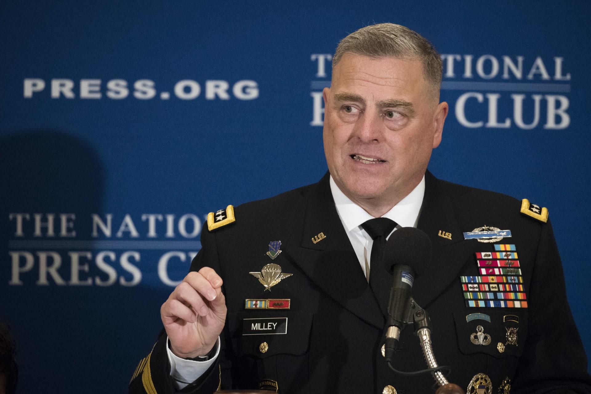 رئيس أركان الجيش الأمريكي: إيران قصدت قتل قواتنا بالعراق.. وبغداد لم تحذرنا من القصف الصاروخي