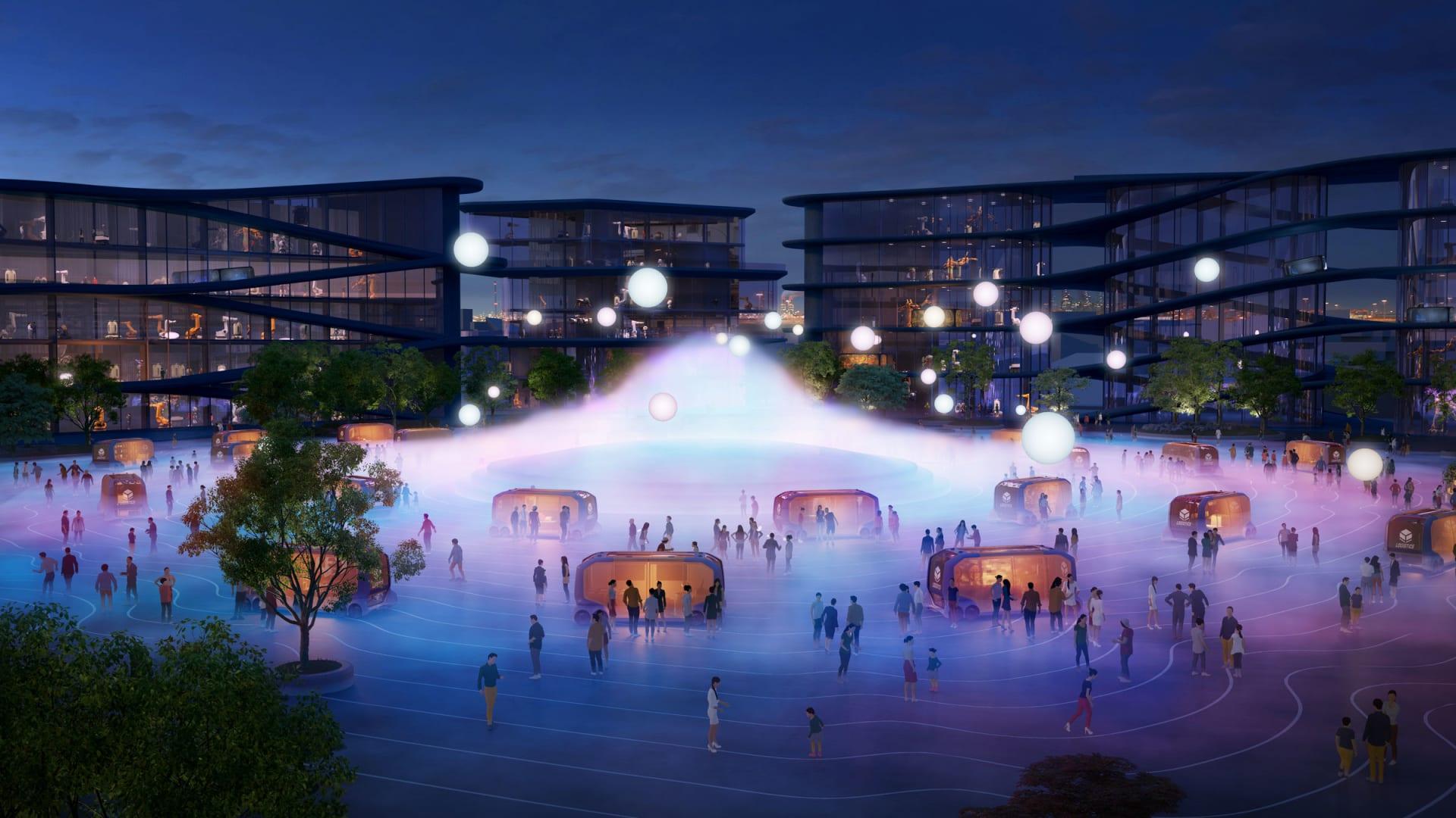 تويوتا تبني مدينة ذكية