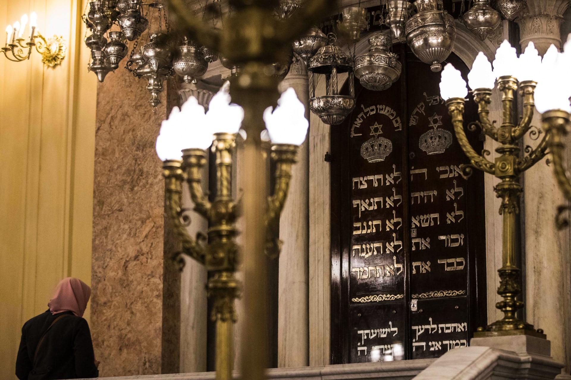 """بعد عامين من الترميم.. افتتاح معبد """"إلياهو هانبي"""" الأقدم والأشهر بين معابد اليهود في الإسكندرية"""