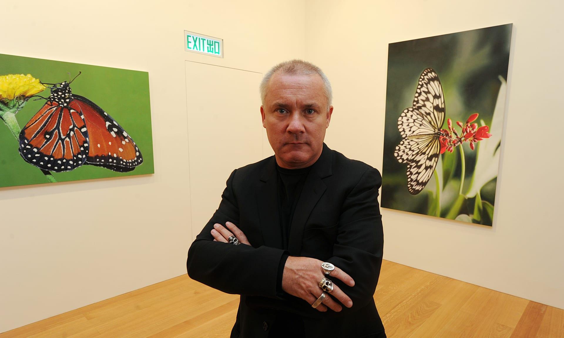 الفنان البريطاني، داميان هيرست