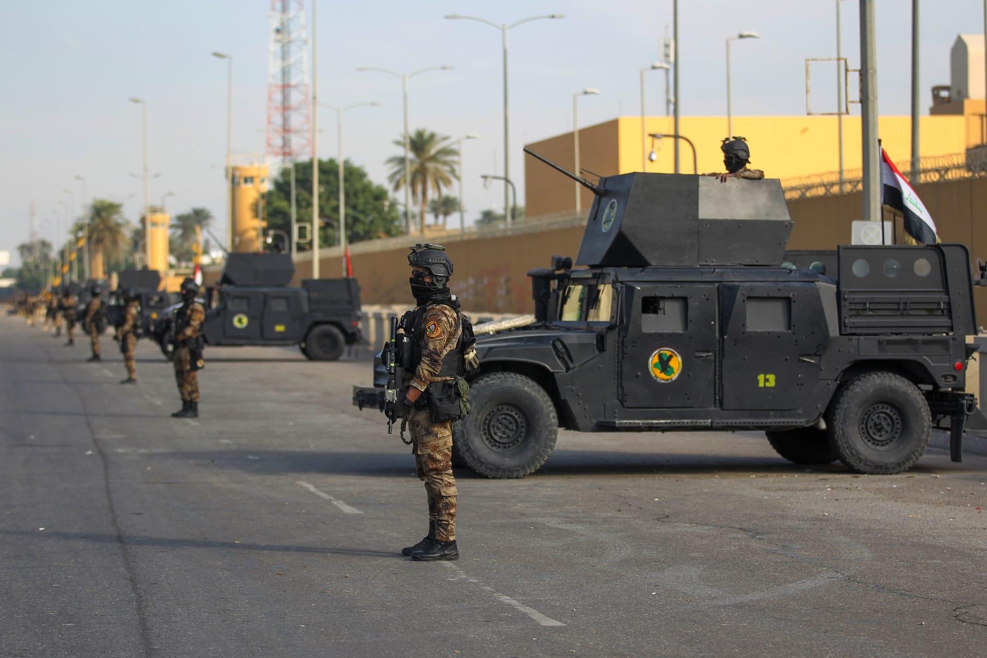 سقوط 3 صواريخ في المنطقة الخضراء ببغداد.. ودوي صفارات الإنذار قرب السفارة الأمريكية
