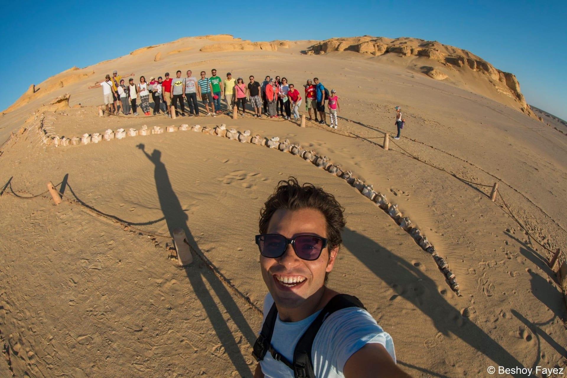 وادي الحيتان بالفيوم في مصر