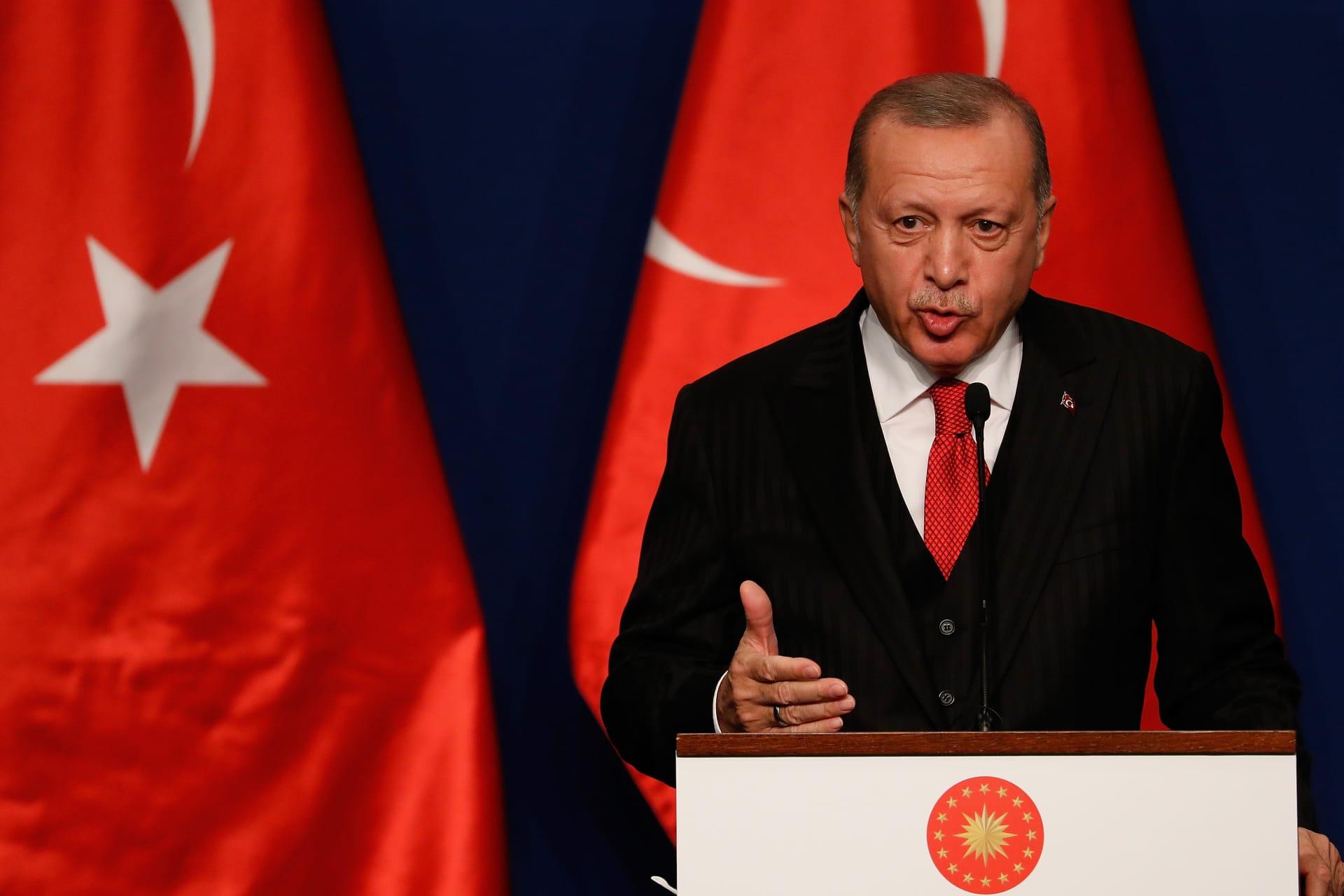 أردوغان مُحذرًا: الفوضى ستشمل حوض البحر المتوسط حال عدم تحقق التهدئة في ليبيا قريبًا