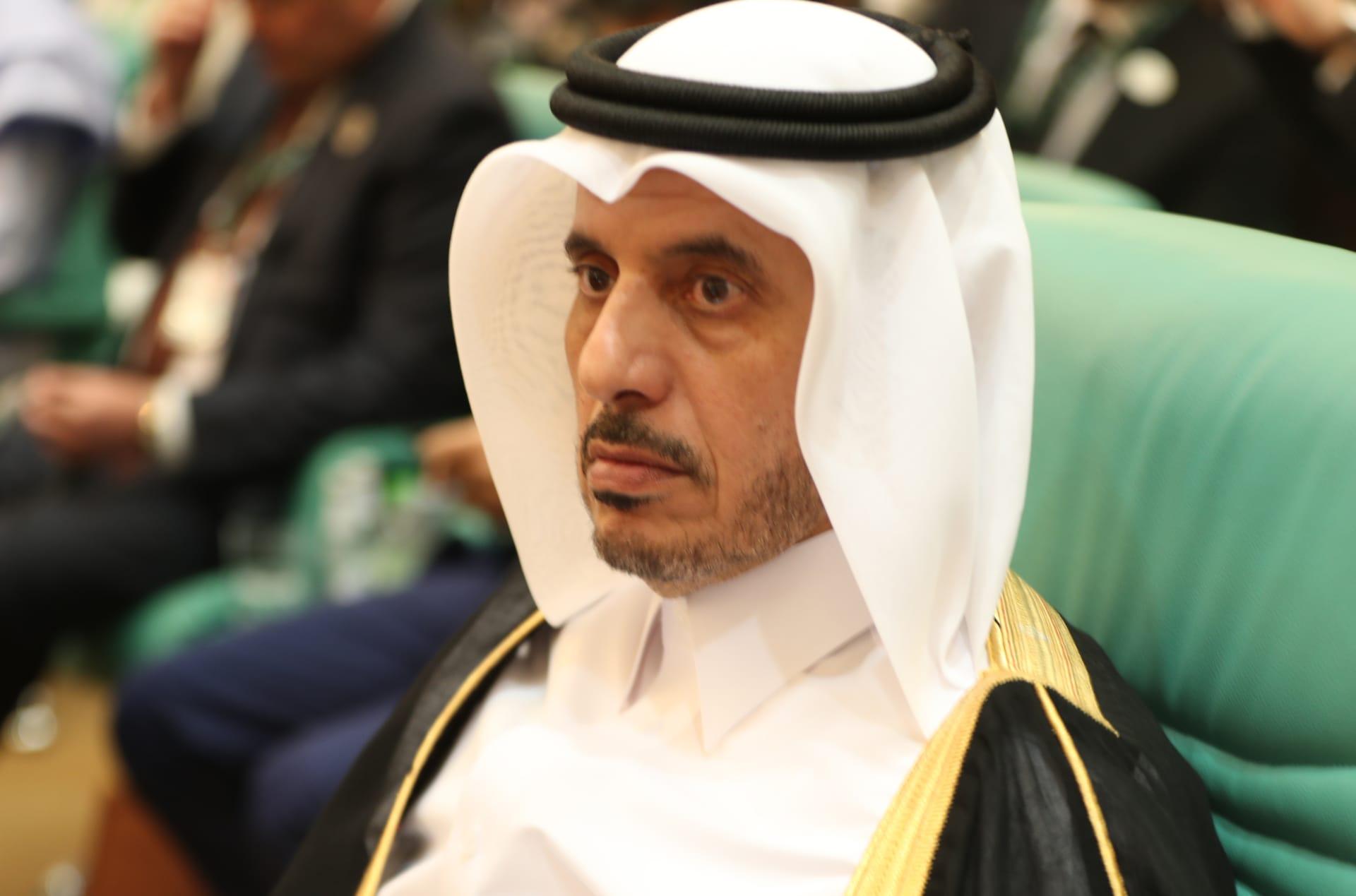 رئيس وزراء قطر المستقيل الشيخ عبدالله بنناصر آل ثاني