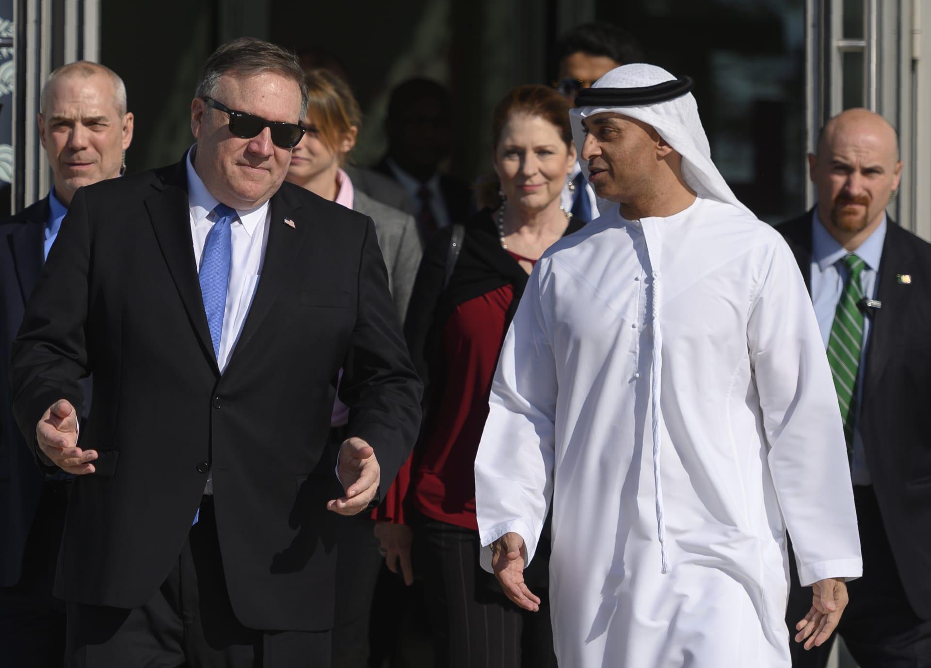 """الإمارات: خطة السلام بالشرق الأوسط الأمريكية """"نقطة انطلاق مهمة"""""""