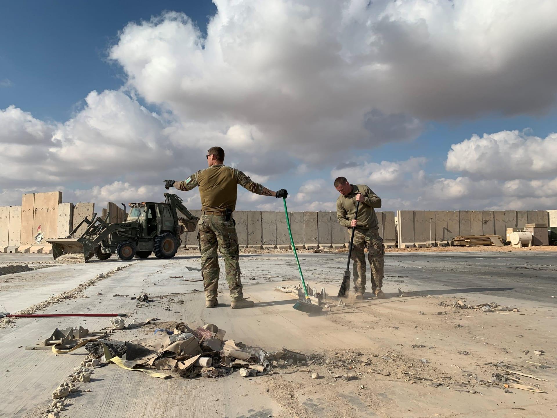 البنتاغون: تشخيص 50 من أفراد الجيش الأمريكي بإصابات دماغية بعد ضربة إيران الصاروخية