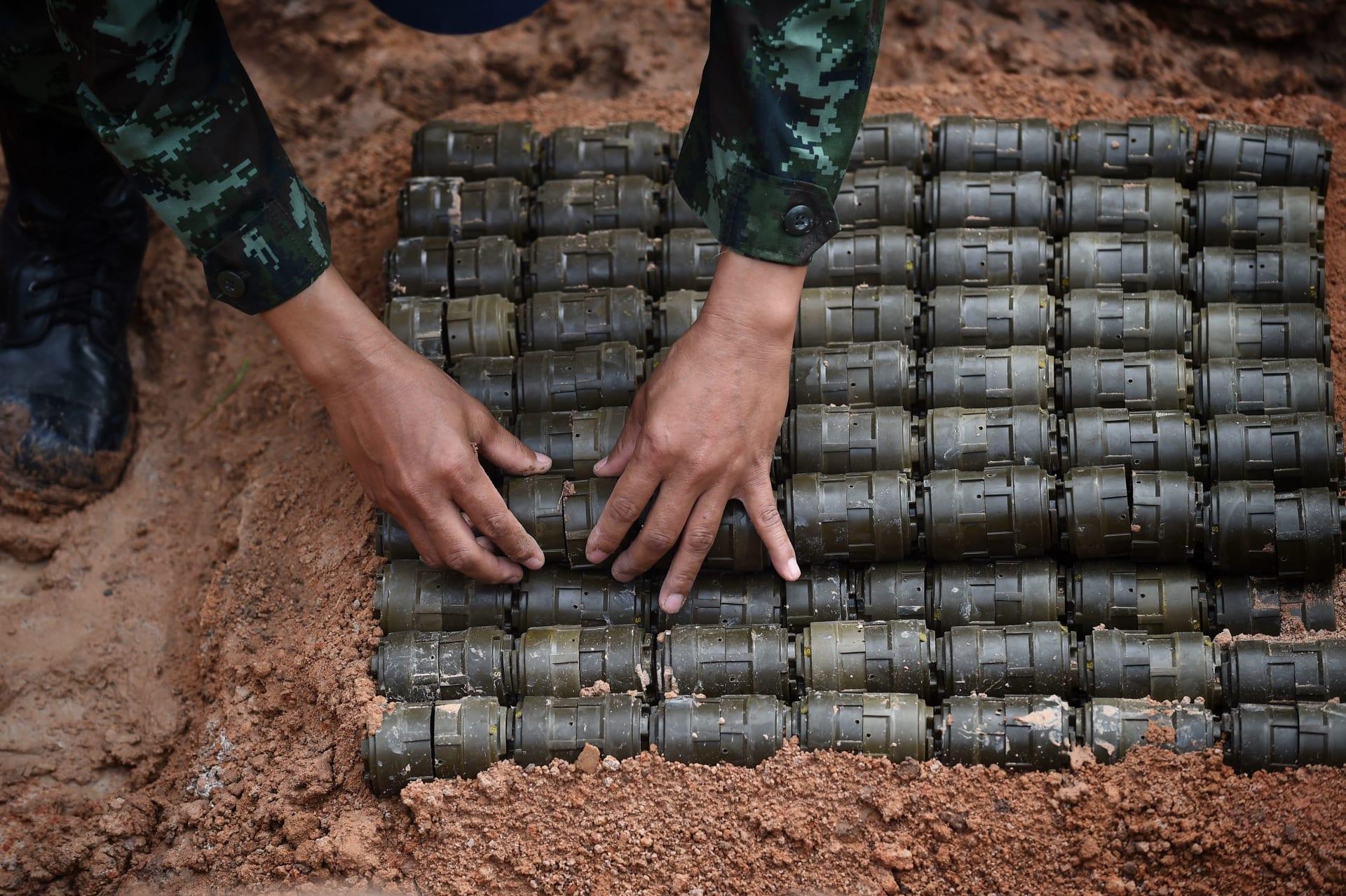 مسؤولون بالبنتاغون لـCNN: إدارة ترامب ستخفف قيود استخدام الجيش الأمريكي للألغام الأرضية