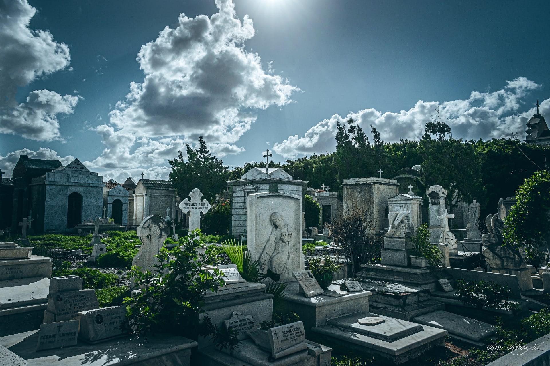 المقابر اليونانية في الإسكندرية