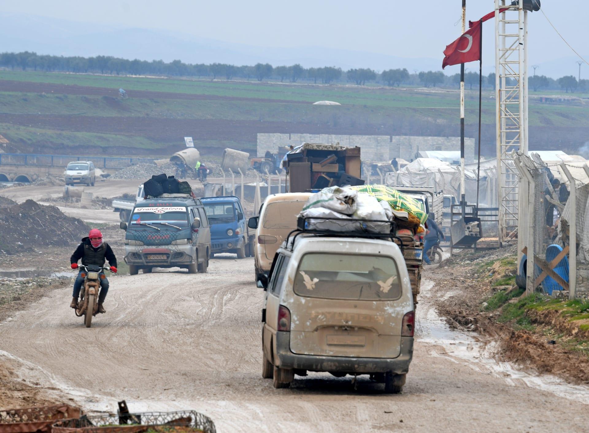 الأمم المتحدة: أكثر من 800 ألف نازح في شمال غرب سوريا منذ ديسمبر