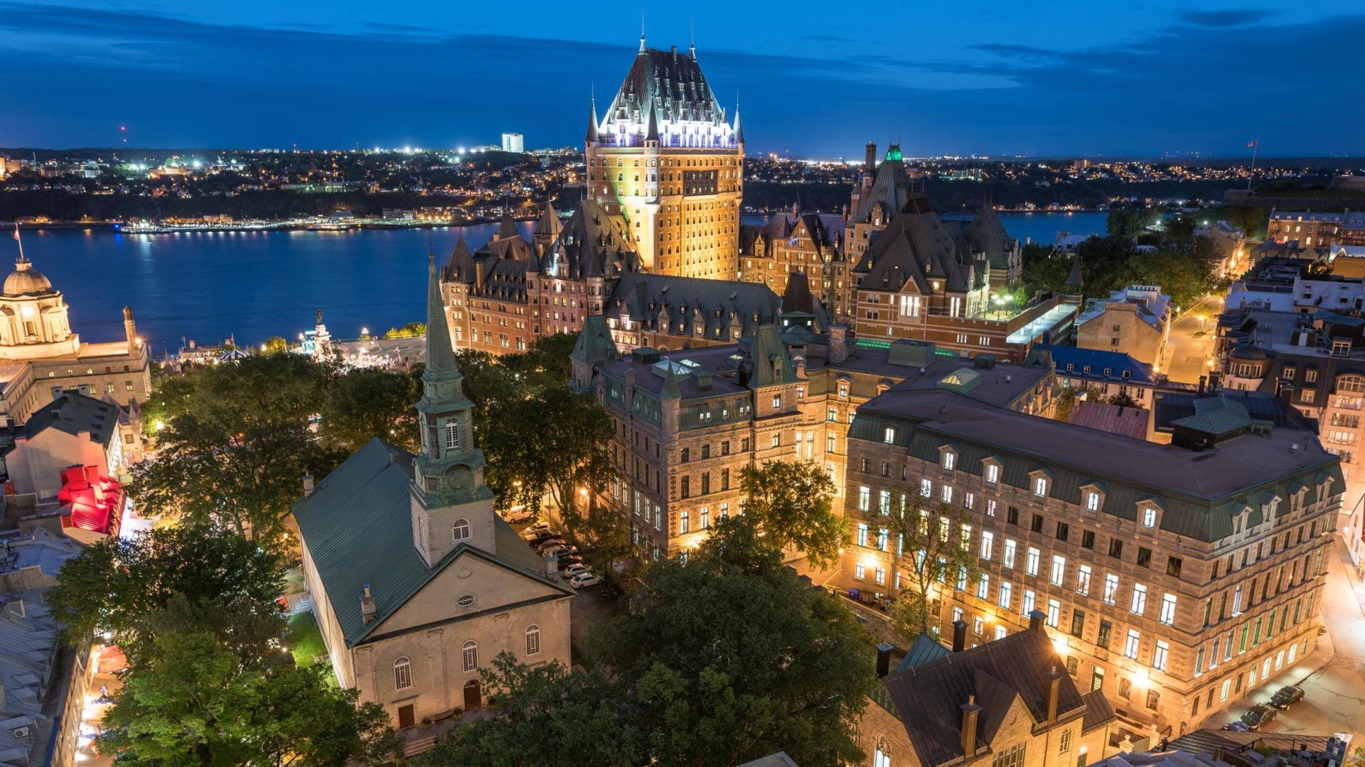مدينة كيبيك في كندا