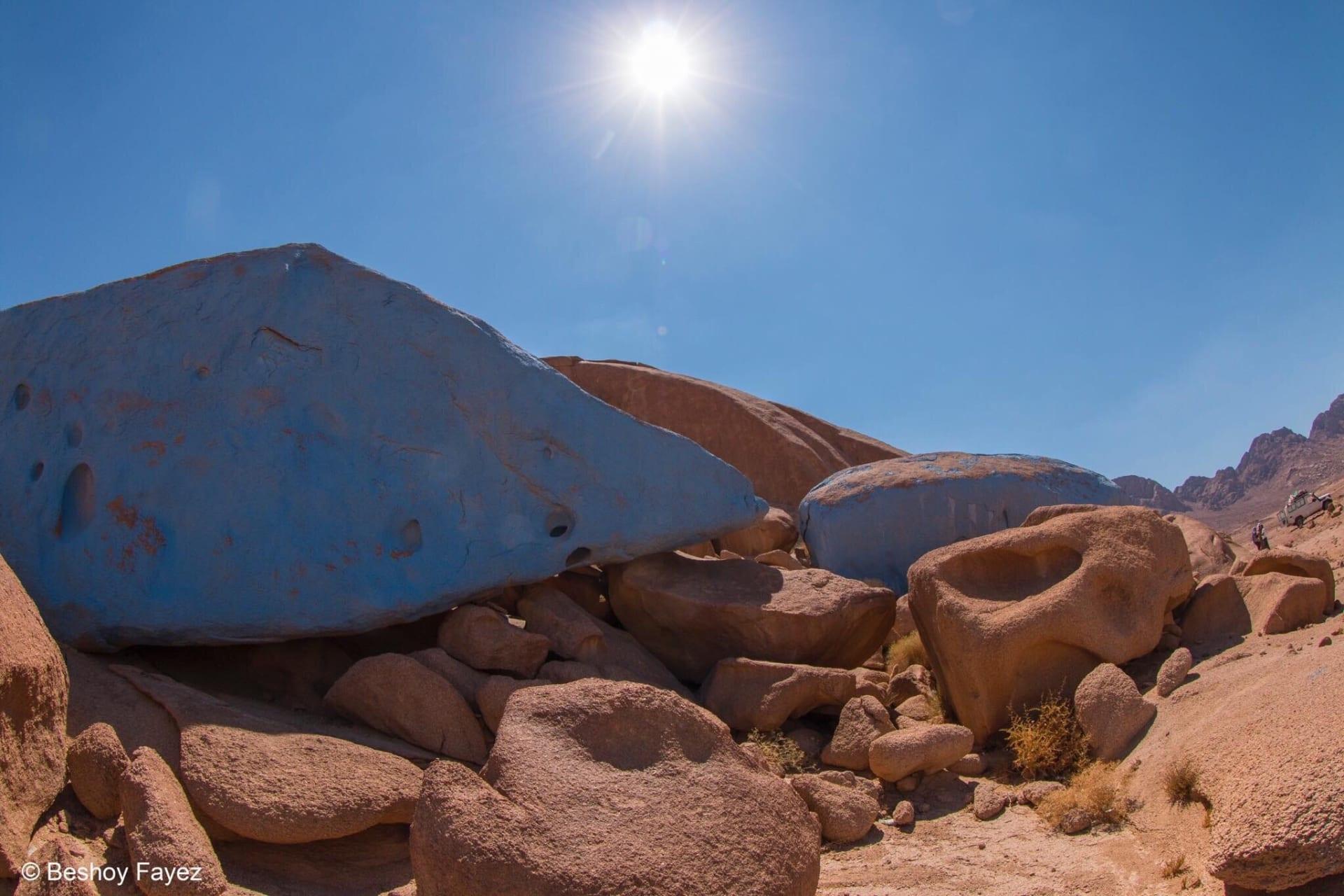 الصحراء الزرقاء في مصر