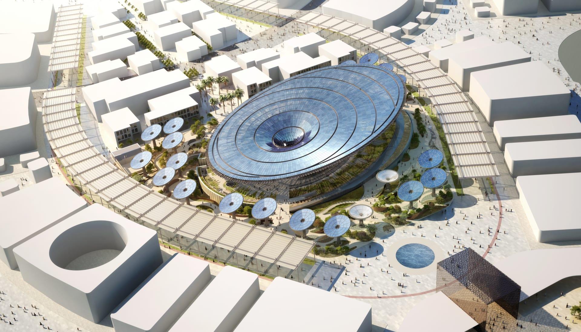 """بدبي.. تعرّف إلى مباني """"إكسبو 2020"""" التي سوف تشكل معالم جديدة للمدينة"""