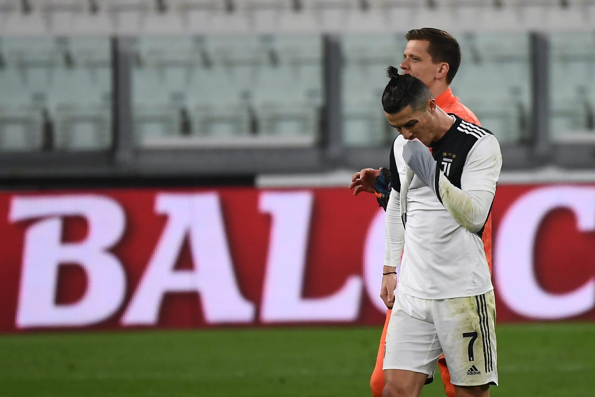 بعد تفشي فيروس كورونا.. رونالدو يظهر بلقطة طريفة قبل مباراة إنتر ميلان