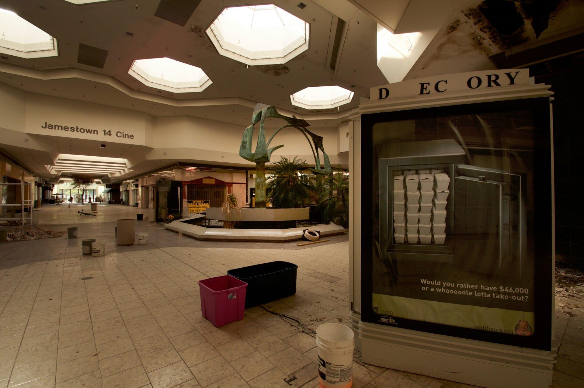 مراكز التسوق المهجورة في أمريكا