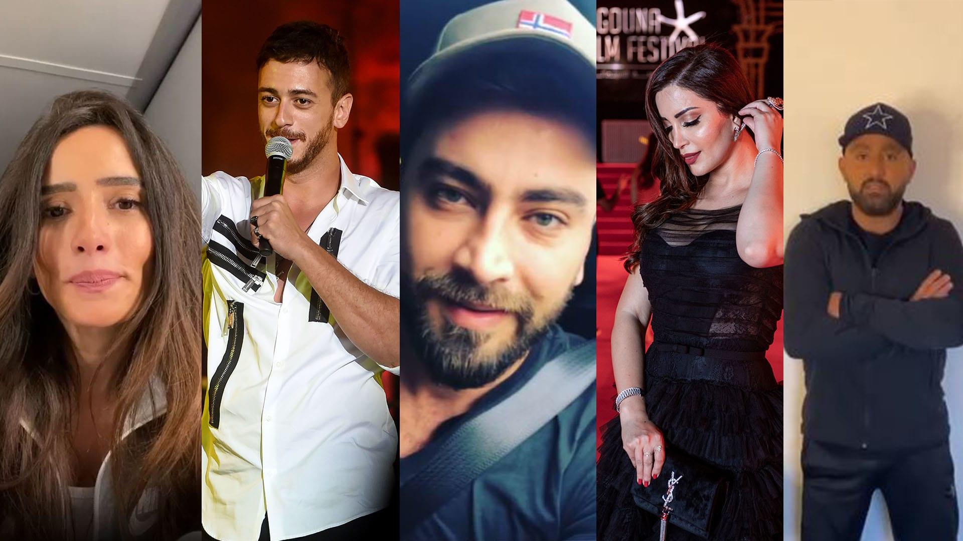 صور مختارة لمجموعة من الفنانين العرب