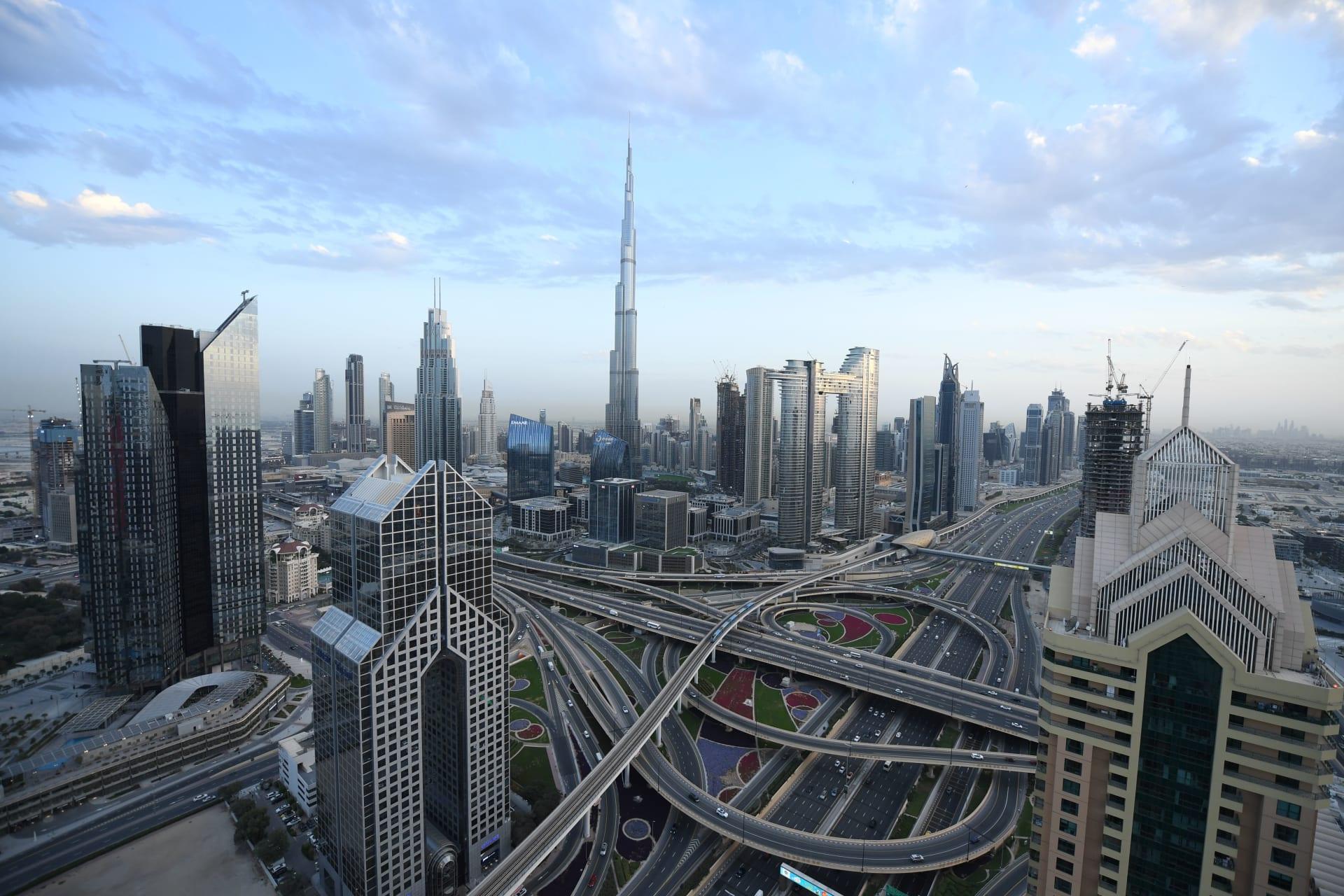 صورة أرشيفية عامة لإمارة دبي