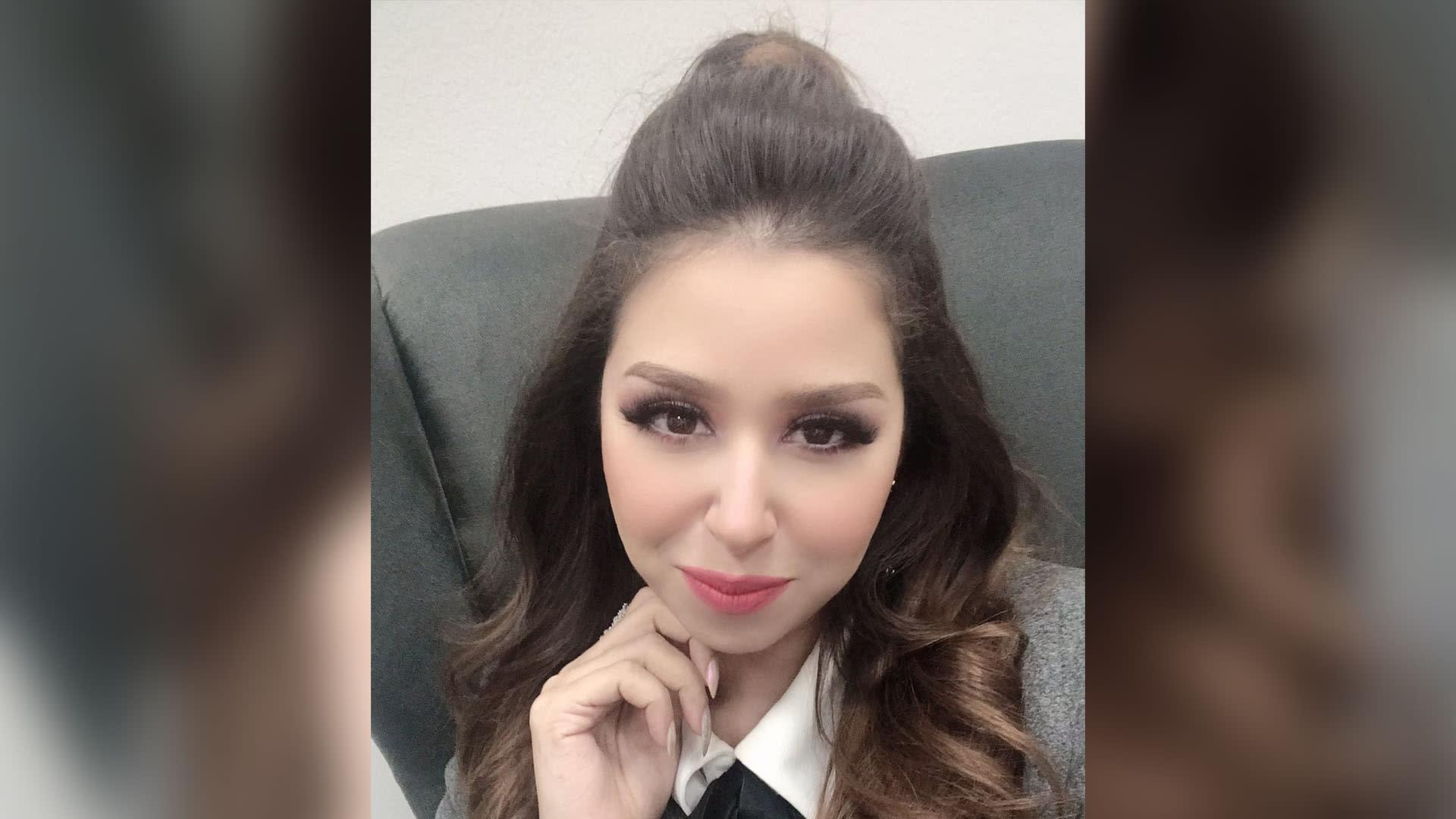 صورة للمغنية المصرية إيناس عز الدين من صفحتها على تويتر