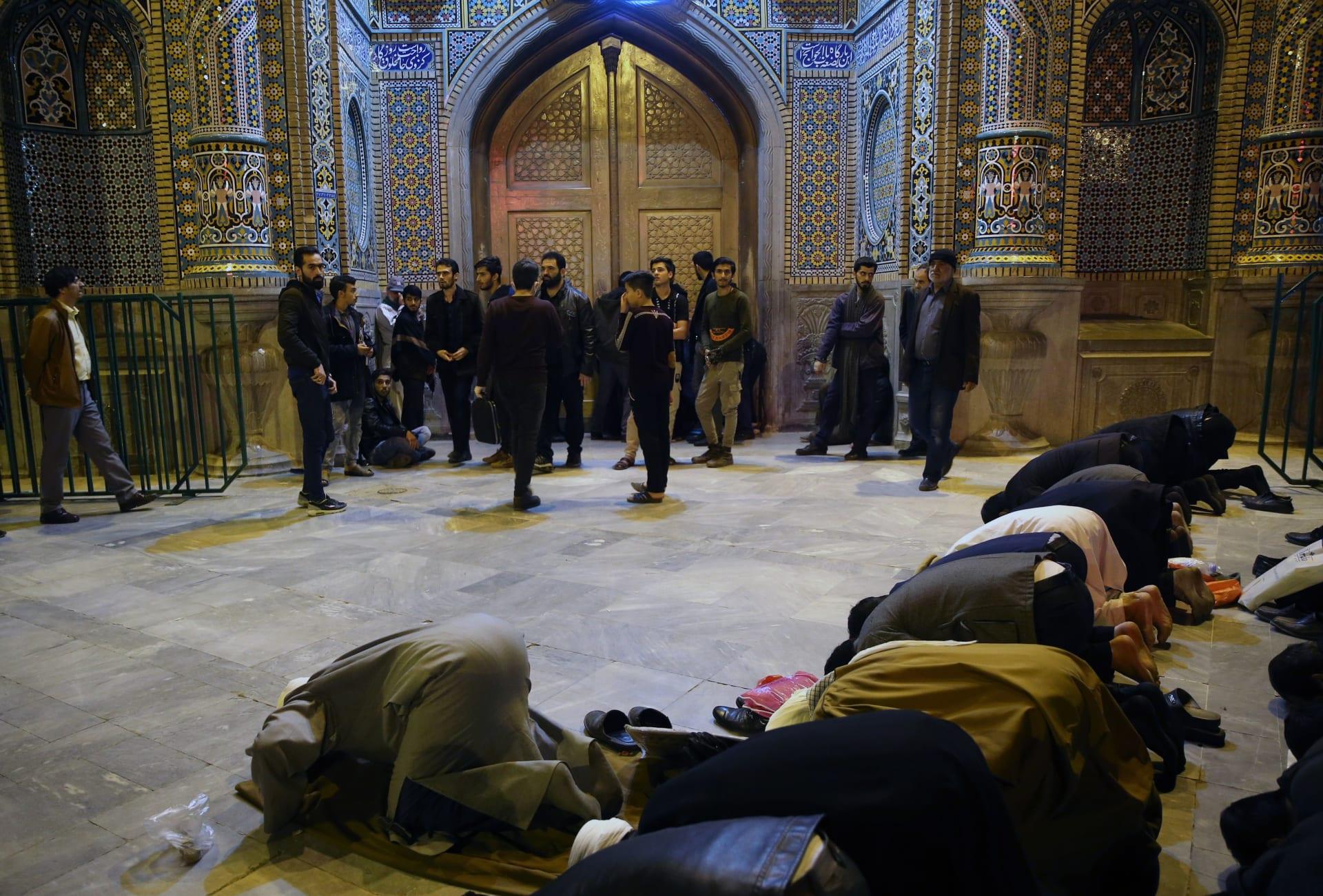 """فيديو """"ملك الموت"""" يجوب شوارع في إيران يثير تفاعلا"""