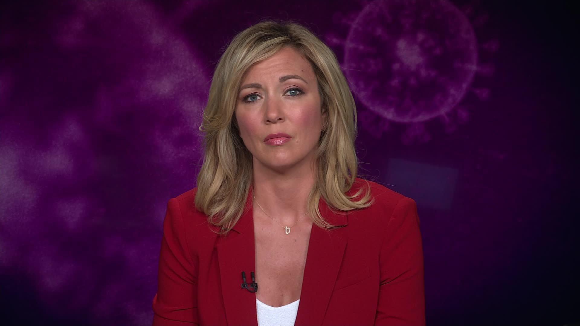إصابة مذيعة CNN بروك بالدوين بفيروس كورونا