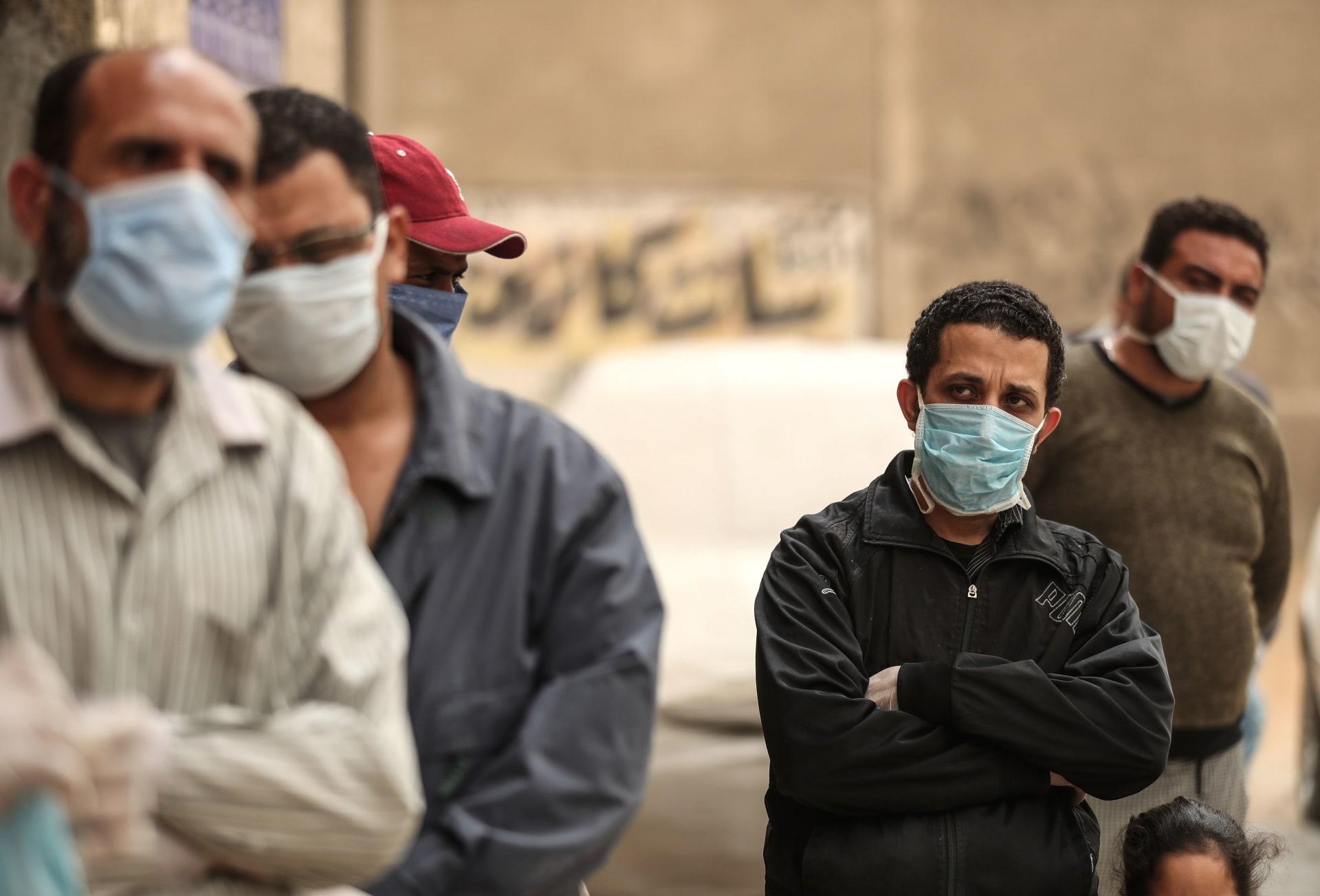 كورونا في مصر.. أعلى معدل يومي للوفيات بـ 17 شخصًا