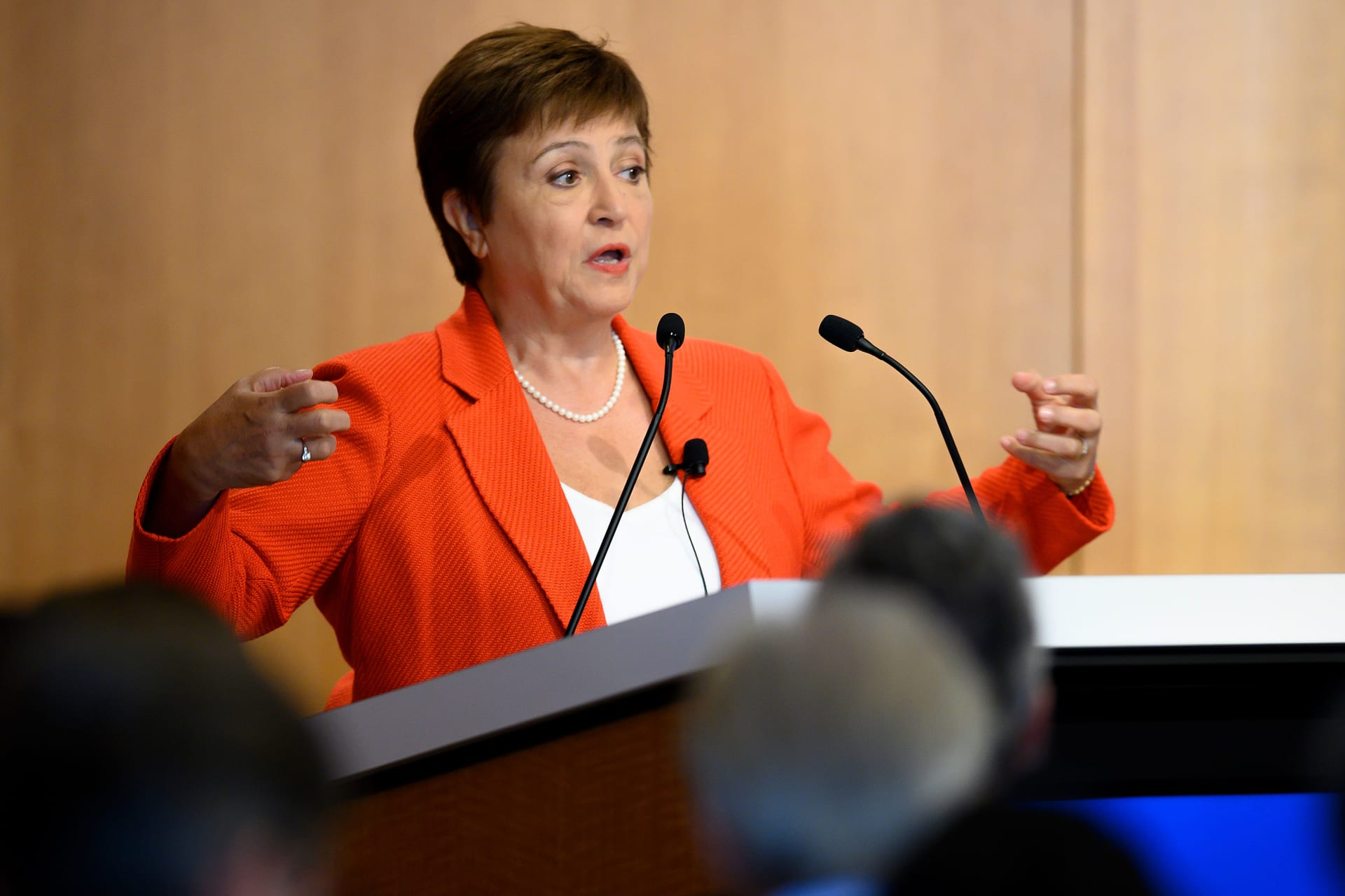 كريستالينا جورجيفا رئيسة صندوق النقد الدولي