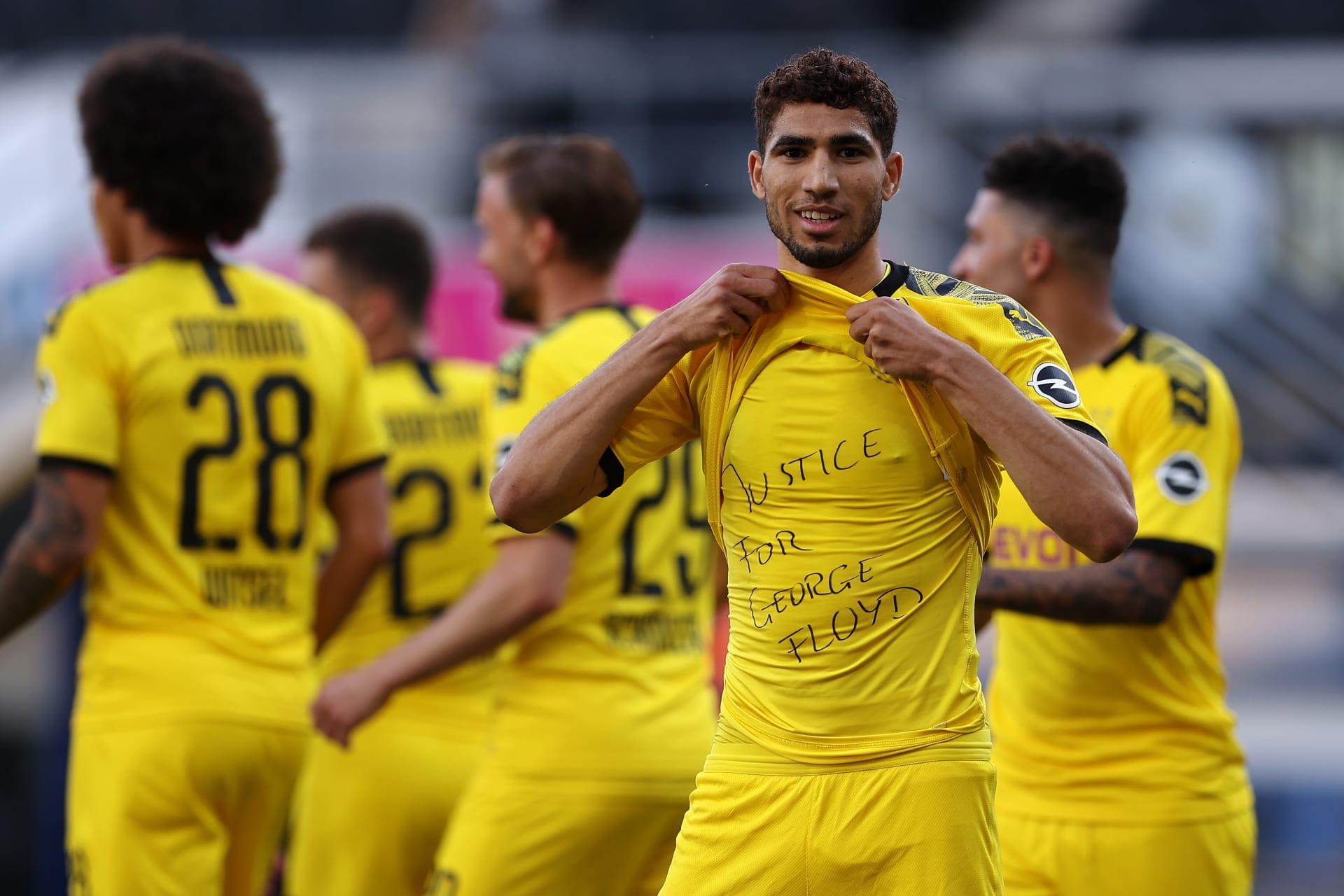 أحدهم عربي.. الاتحاد الألماني لن يفرض عقوبات على لاعبين تضامنوا مع جورج فلويد