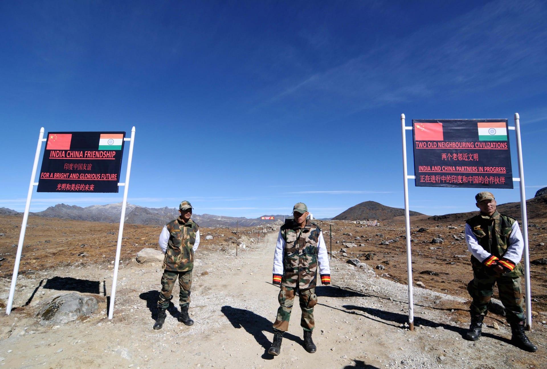 اشتباكات في المنطقة الحدودية المتنازع عليها بين الهند والصين
