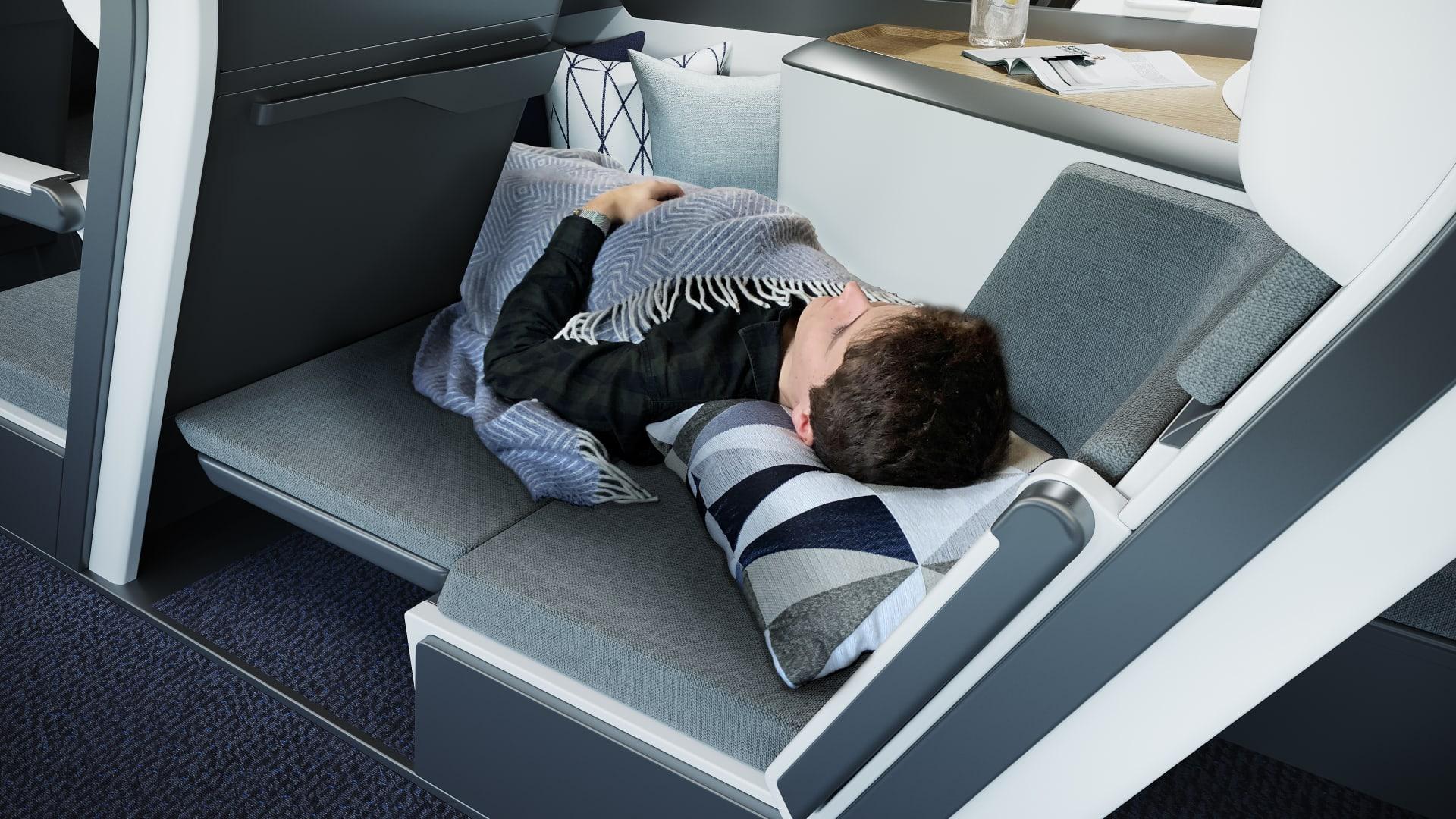 في عصر فيروس كورونا..هل يغير مفهوم المقاعد ذات الطابقين مستقبل الطيران؟