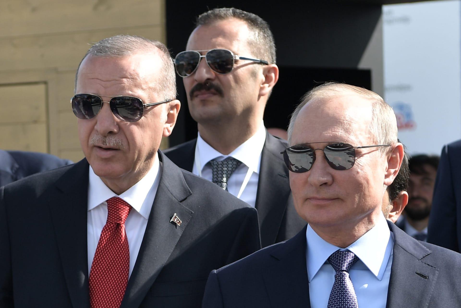 """بوتين """"يلفت انتباه"""" أردوغان إلى أصداء تحويل آيا صوفيا لمسجد.. والثاني يُفسر ويقدم ضمانات"""