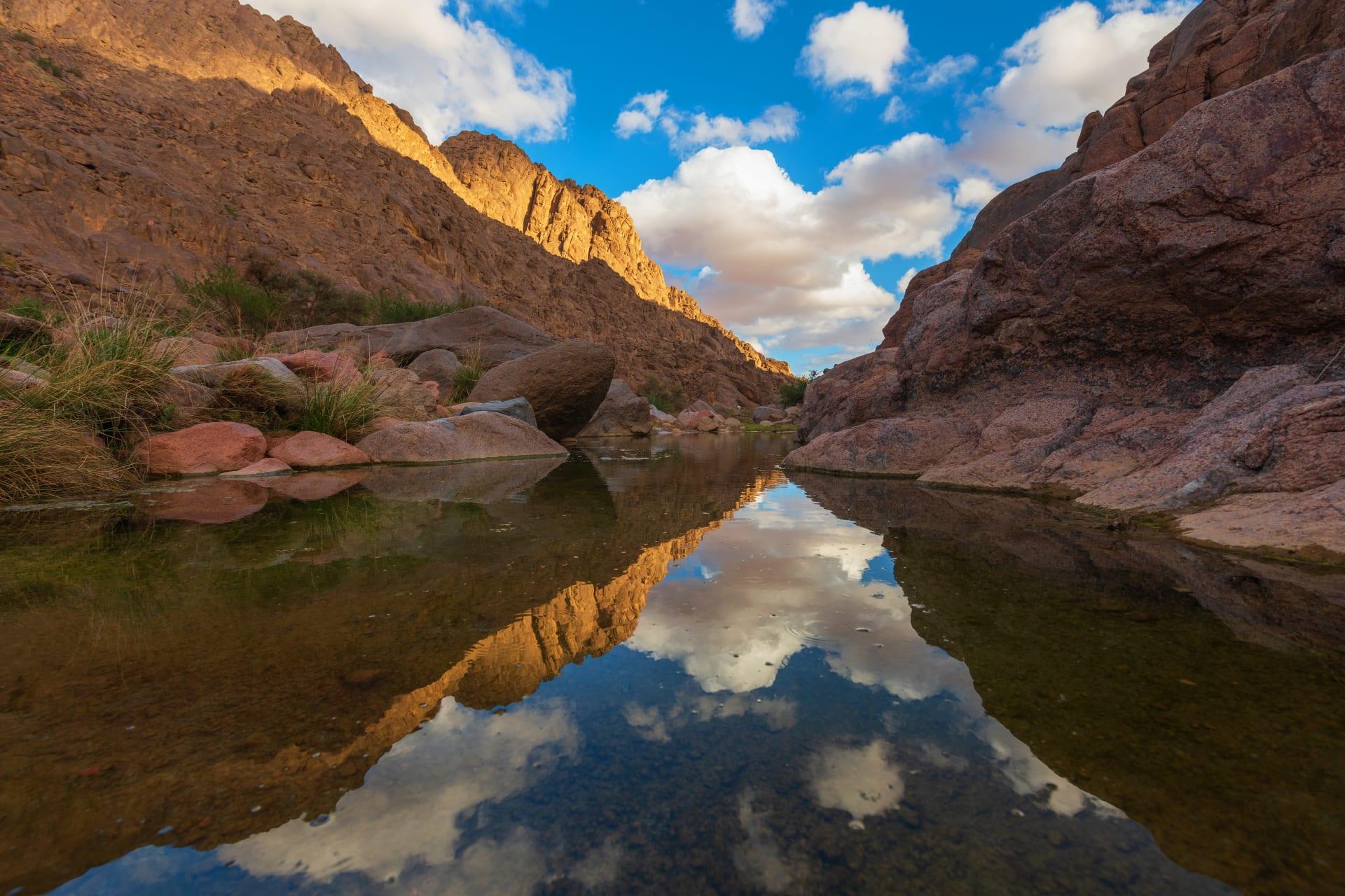 جبال أجا في حائل في السعودية