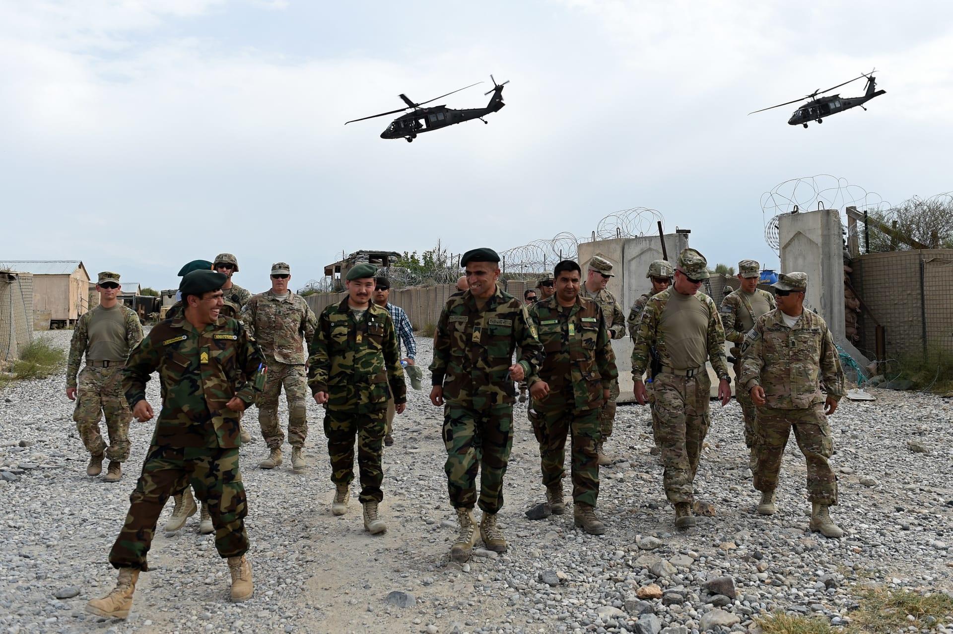 البنتاغون تؤكد انسحاب أمريكا من 5 قواعد عسكرية في أفغانستان بموجب اتفاق مع طالبان